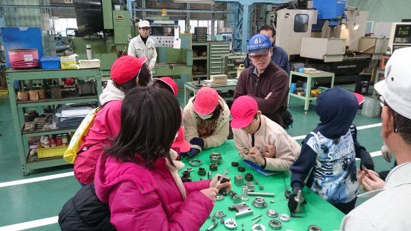 福島小学校5年生工場見学